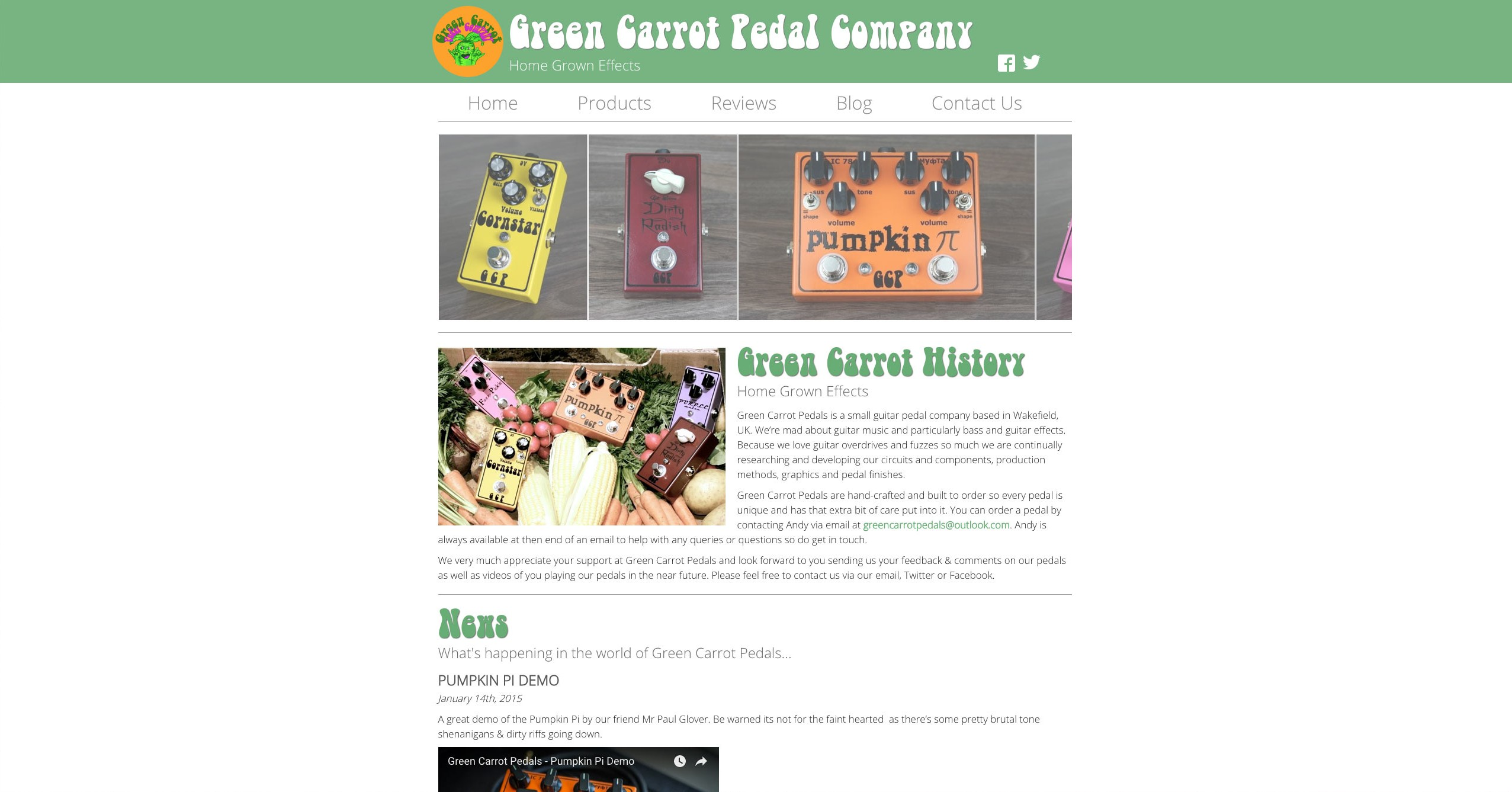 Green Carrot Pedal Company