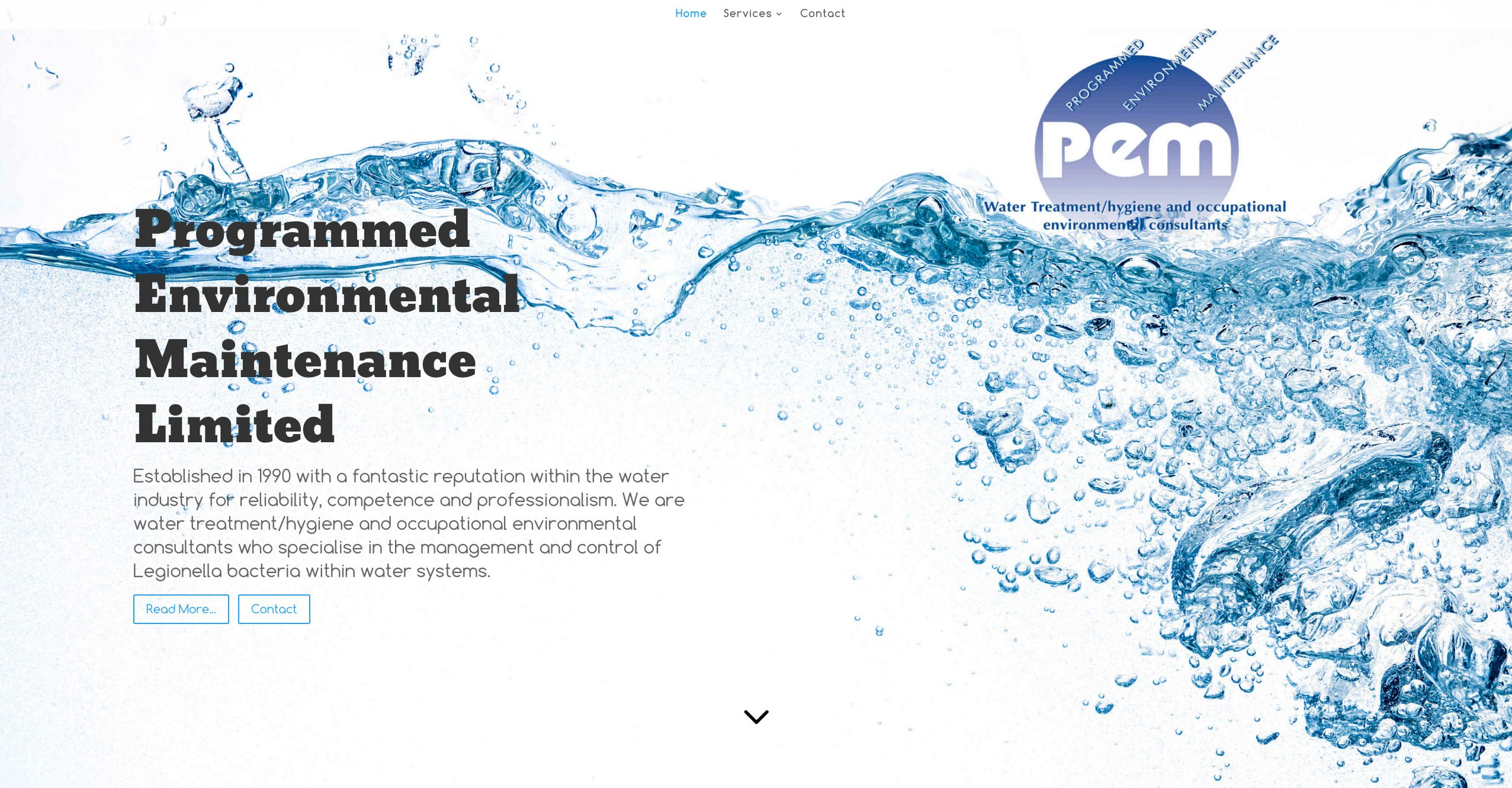 PEM Ltd - Legionella & Water Hygiene Services serving Wakefield and the UK.